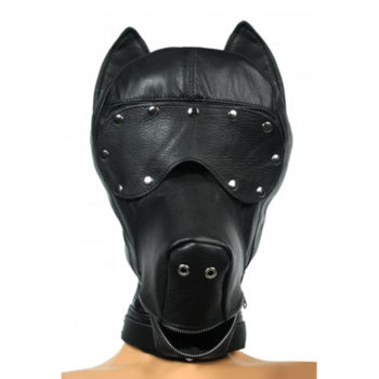 Verspielte Hundekopfkappe