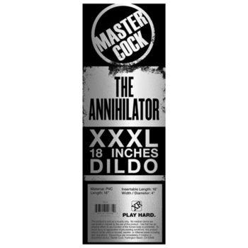 The Annihilator XXXL Dildo