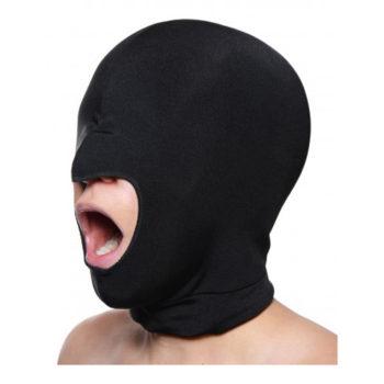 Blow Hole Maske mit offenem Mund