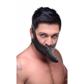 Face Fuk Mundknebel mit Dildo