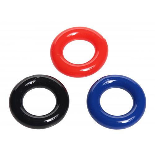 Set Dehnbare Penisringe – 3 Teile