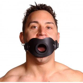 Strict Leather Versperrbarer Knebel mit offenem Mund