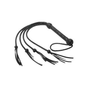 Vierfache Peitsche von Strict Leather
